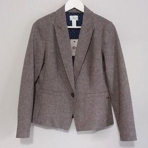 Levi's Brown Tweed Suit Jacket Blazer
